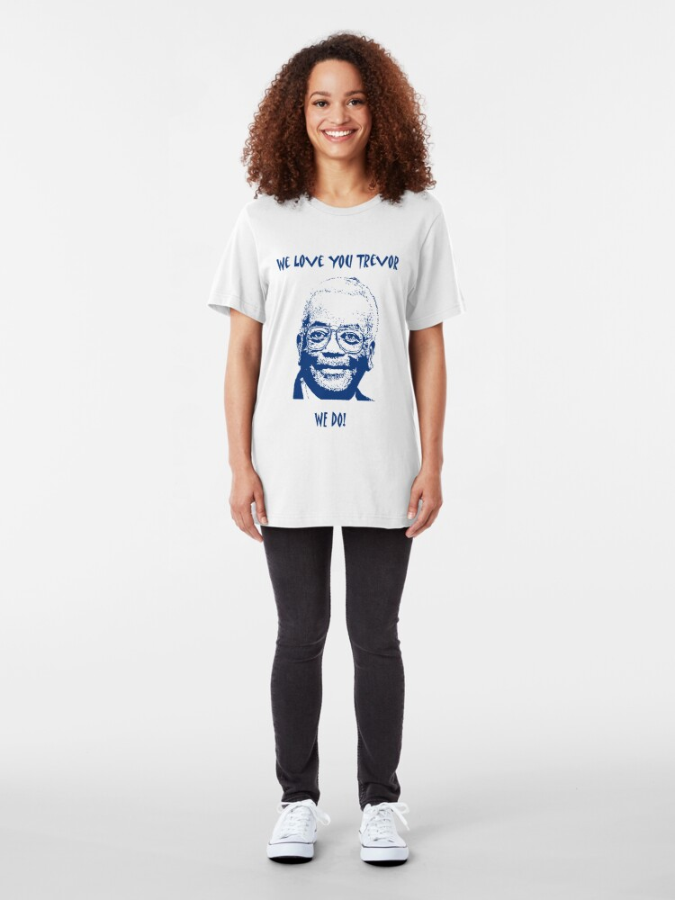 Alternate view of Sir Trevor McDonald (Best on Light) Slim Fit T-Shirt