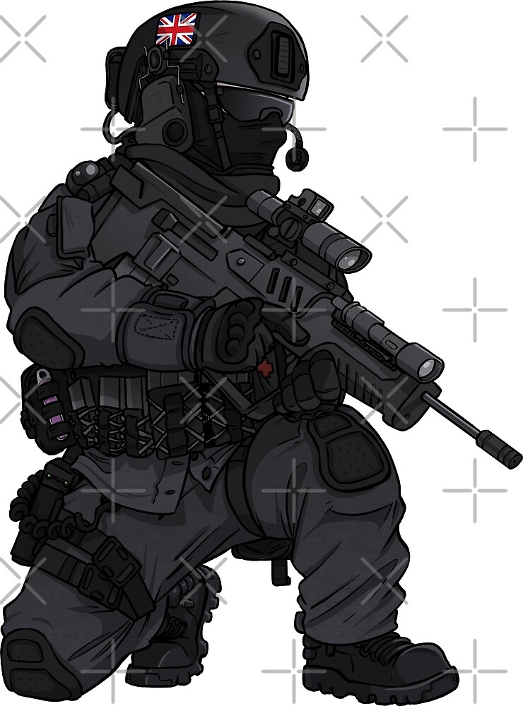 British SAS Commando Operator by TacOpsGear