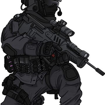 British SAS Commando Operator by TacOpsGear