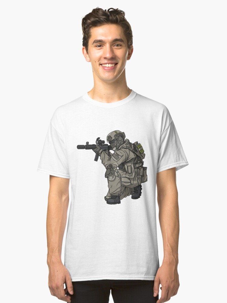 GSG9 - Police - Police - Federal Police Classic T-Shirt Front