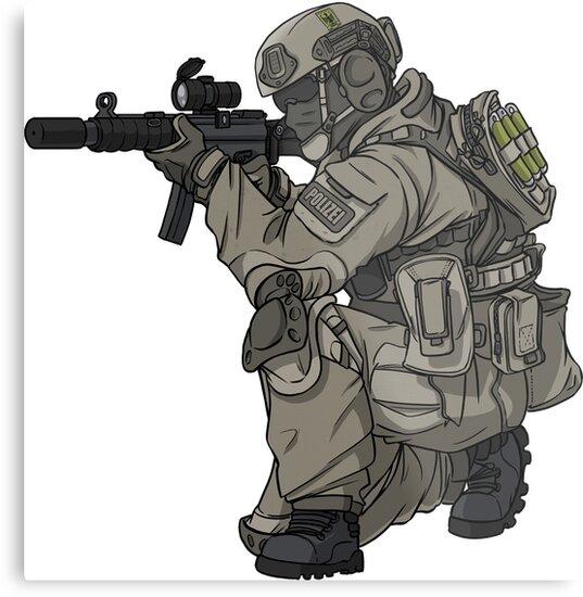 GSG9 - Police - Police - Federal Police by TacOpsGear