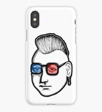 Captain Punk 3D iPhone Case/Skin