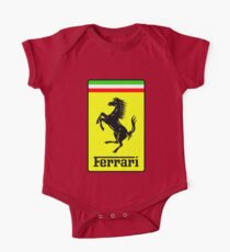 Ferrari Logo One Piece - Short Sleeve