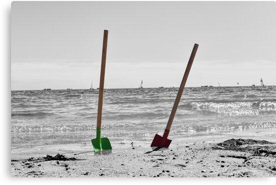 Beach - Shovel by SteffenGehrig
