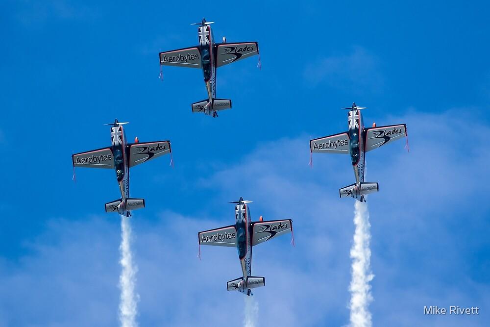 The Blades Aerobatic team by Mike Rivett