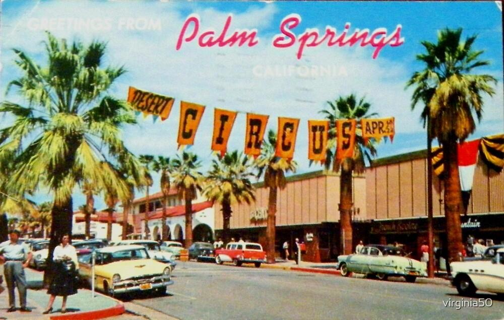 Vintage Palm Springs Greetings by virginia50