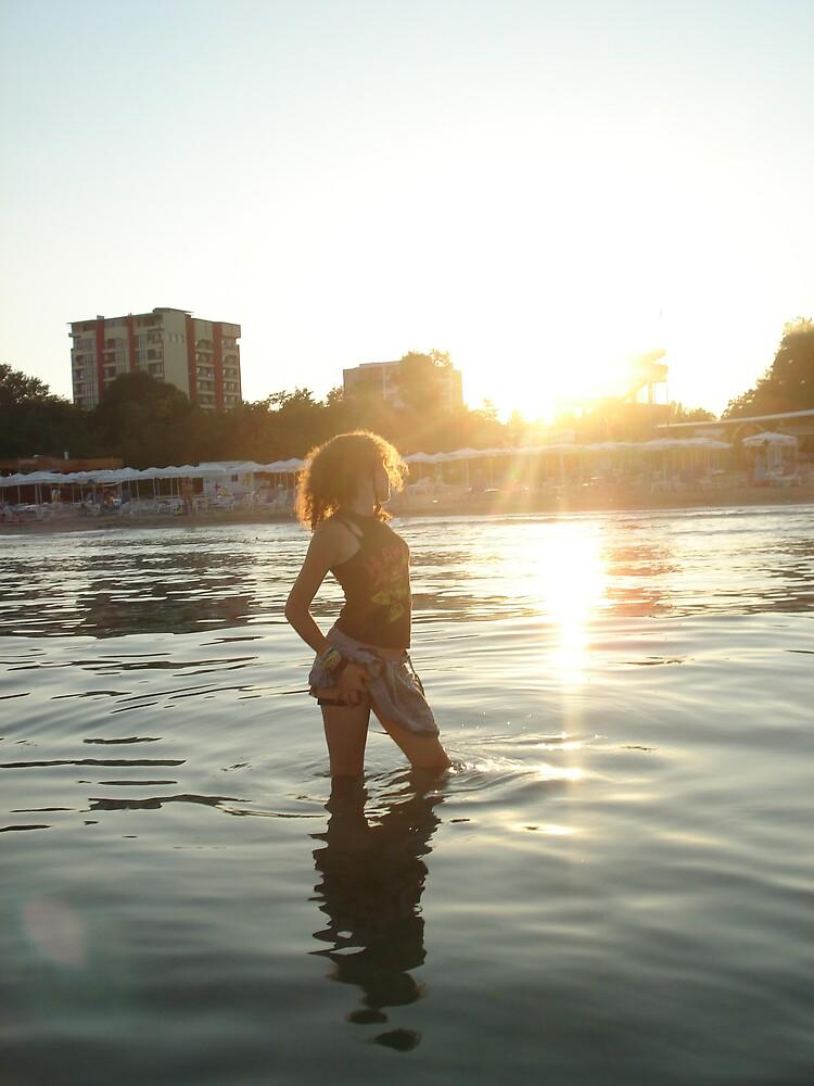 feel the sunlight on my face ;x by Siminaa ;x