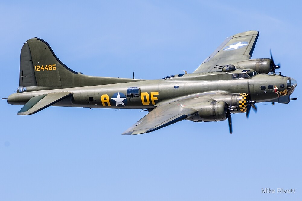 "B-17 ""Sally B"" by Mike Rivett"