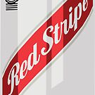 Red Stripe Can by KnightsOfShame