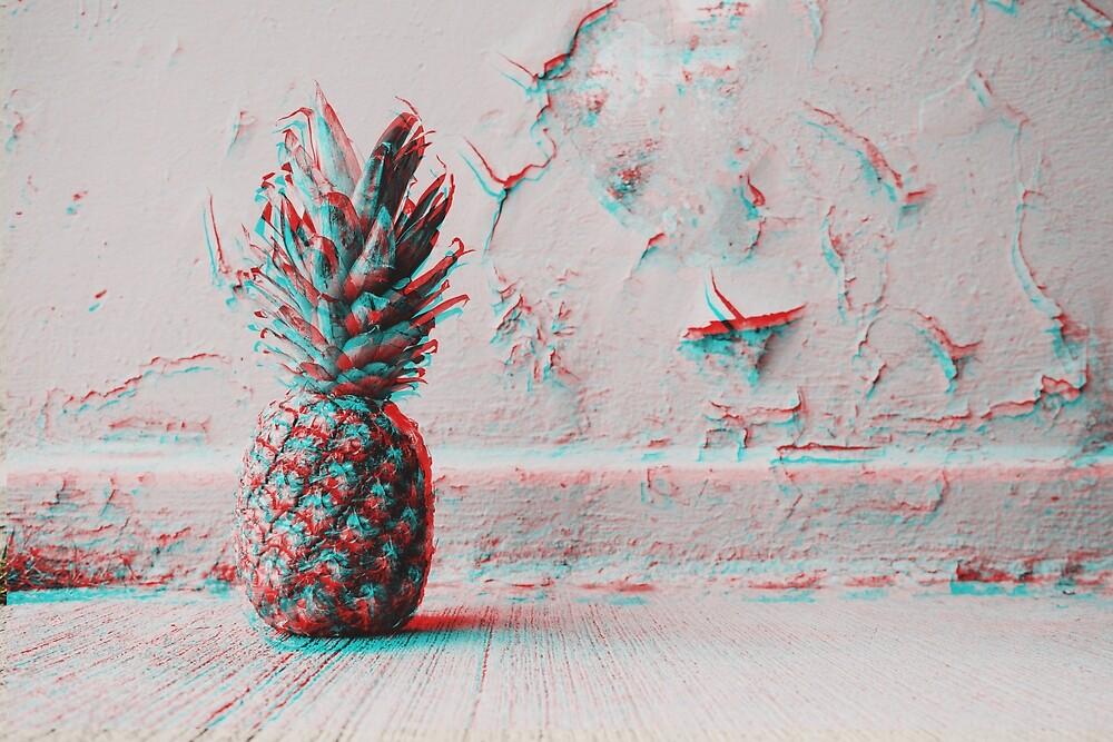 3D - Ananas by MayasAboNaaj
