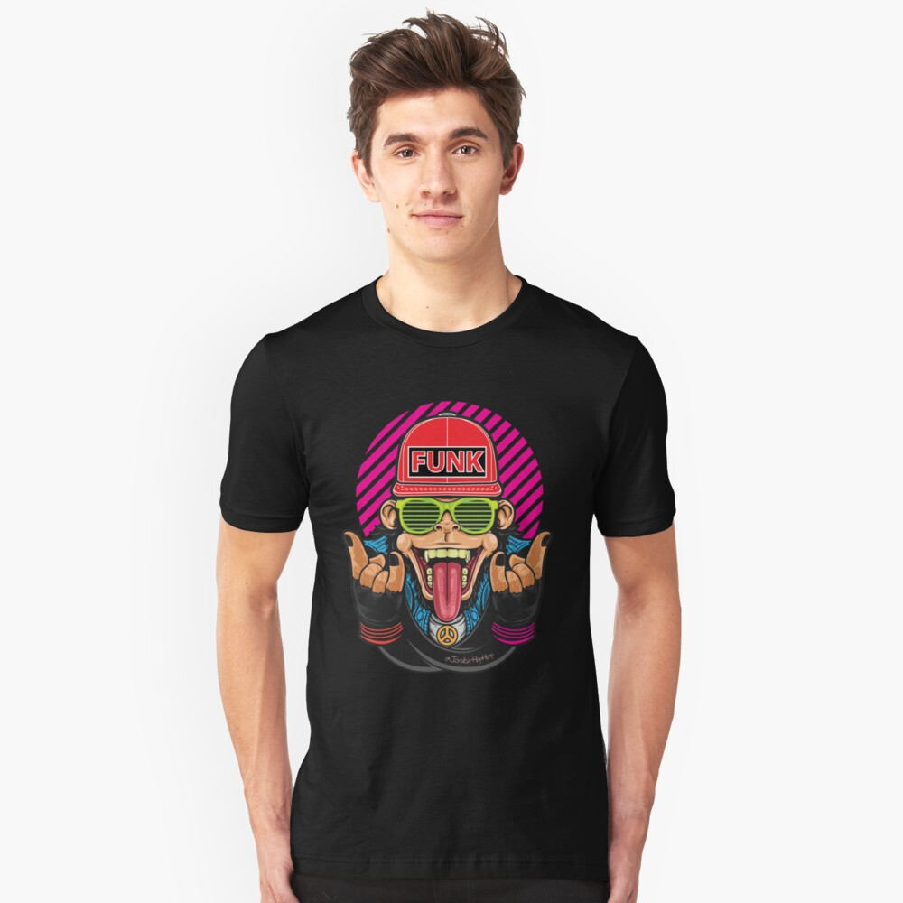 Monkey Funk - T-Shirts and Hoodies Unisex T-Shirt Front