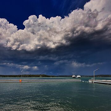 Storm Clouds Over Toronto by Snelvis