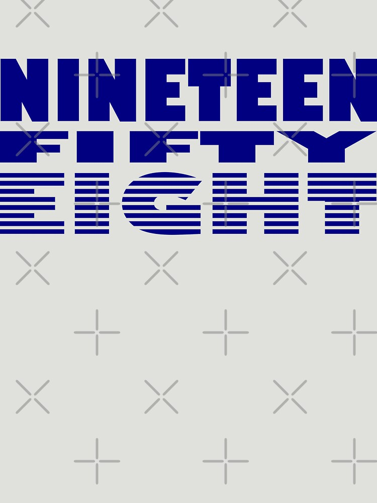 Nineteen Fifty Eight by RixzStuff