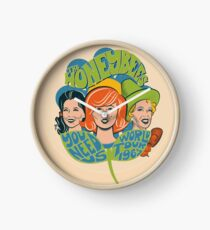 The Honeybees World Tour 1965 - faded version Clock