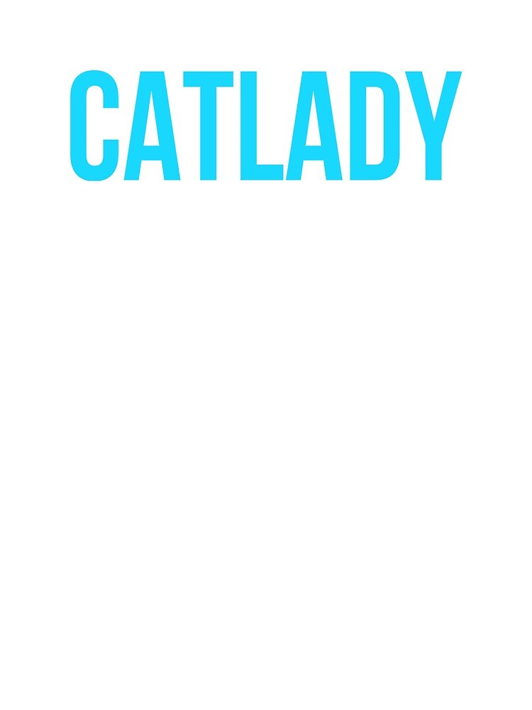 Cat Lady Cat Lover by MoeDeesDotCom