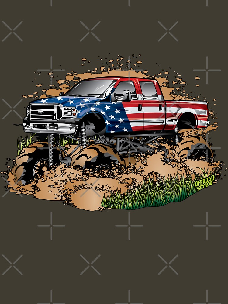 Mud Truck USA Mudder Bogging by offroadstyles