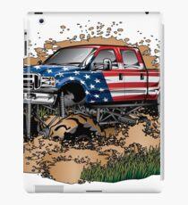 Mud Truck USA Mudder Bogging iPad Case/Skin