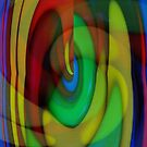 Candy Abstract by Cathy O. Lewis