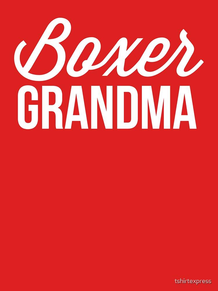 Boxer Grandma by tshirtexpress