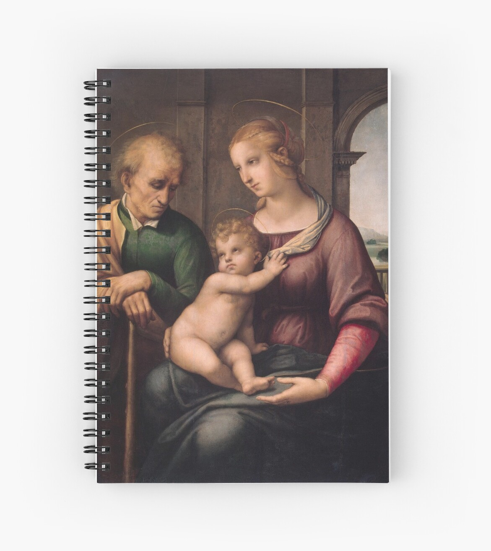 "Raffaello Sanzio da Urbino ""The Holy Family with unbearded Joseph"", 1506 by Alexandra Dahl"