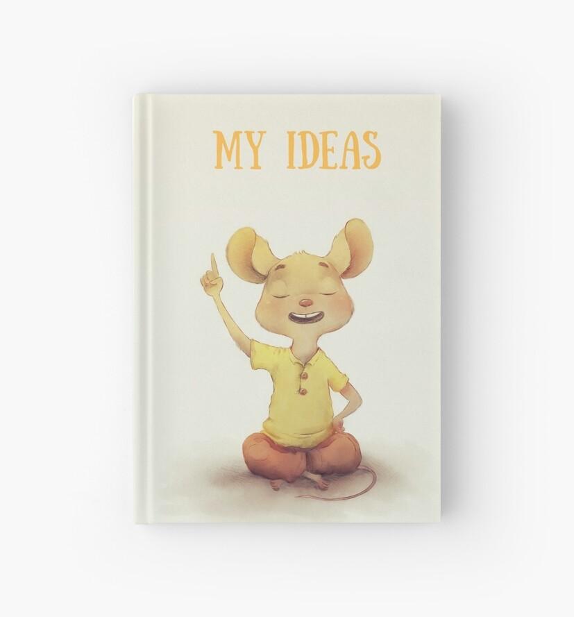 IDEAS JOURNAL NOTEBOOK by Paul Hamilton
