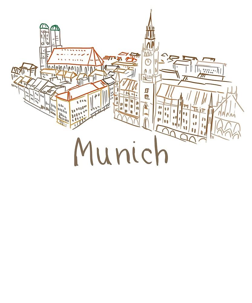Munich Panorama by MichaelRellov