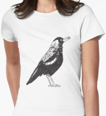 Magpie Women's Fitted T-Shirt