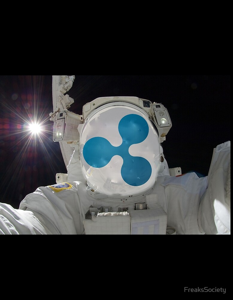 Ripple XRP Cryptonaut by FreaksSociety
