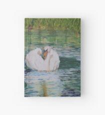 River Nene Swan Hardcover Journal