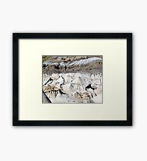 The Badlands, Alberta Framed Print