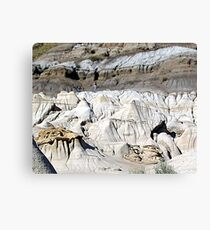 The Badlands, Alberta Canvas Print