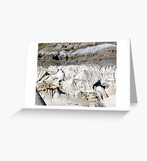The Badlands, Alberta Greeting Card