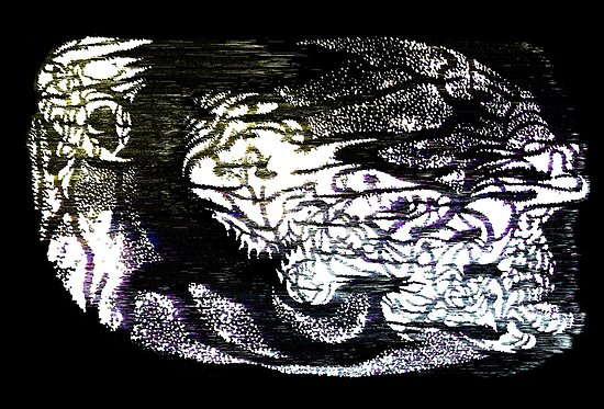 Alien (static variant) by Jesse Davis