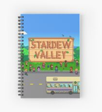 Stardew Valley Bus Spiral Notebook