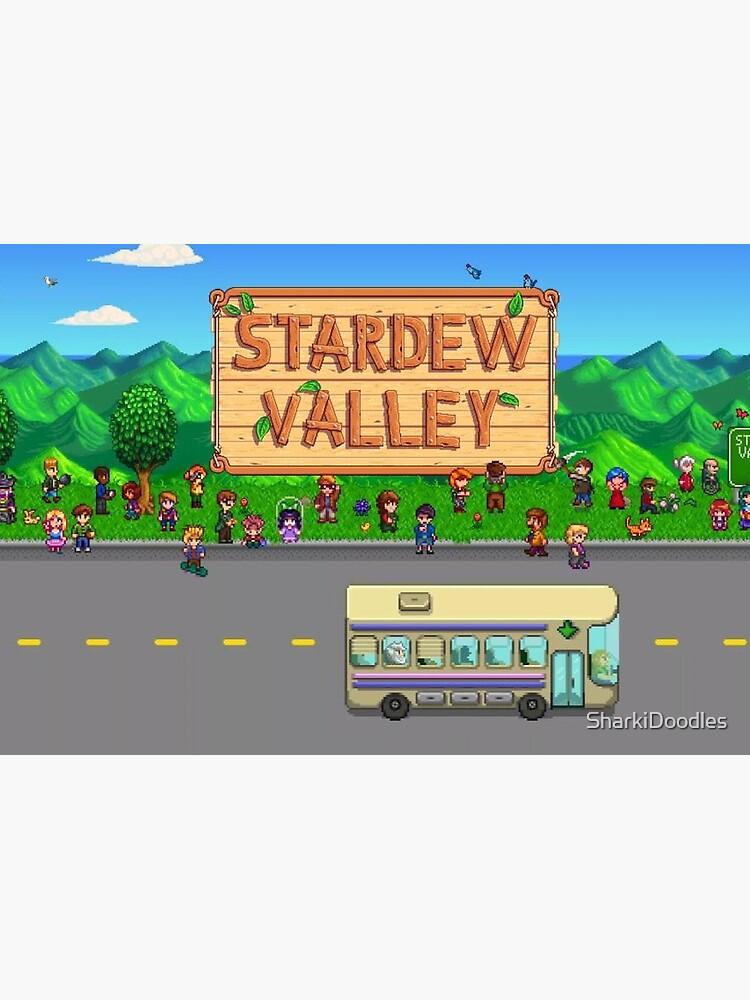 Stardew Valley Bus von SharkiDoodles