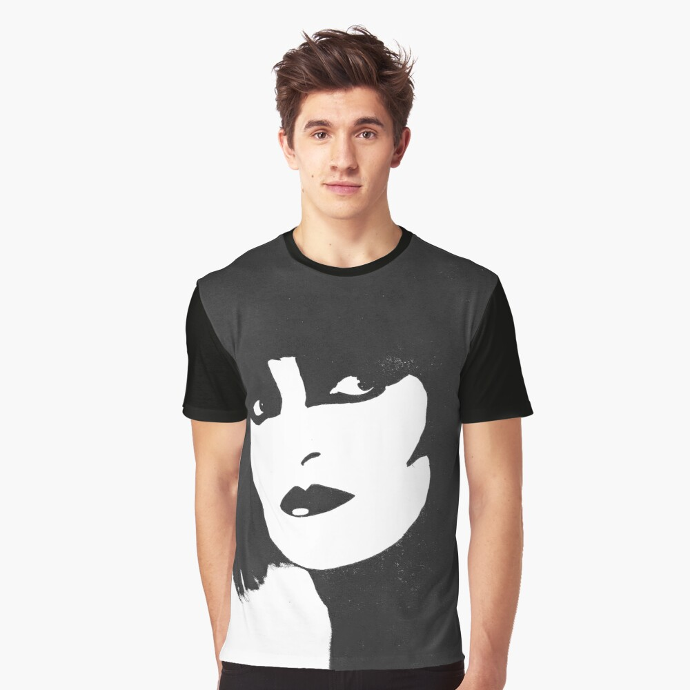 Siouxsie Graphic T-Shirt Front