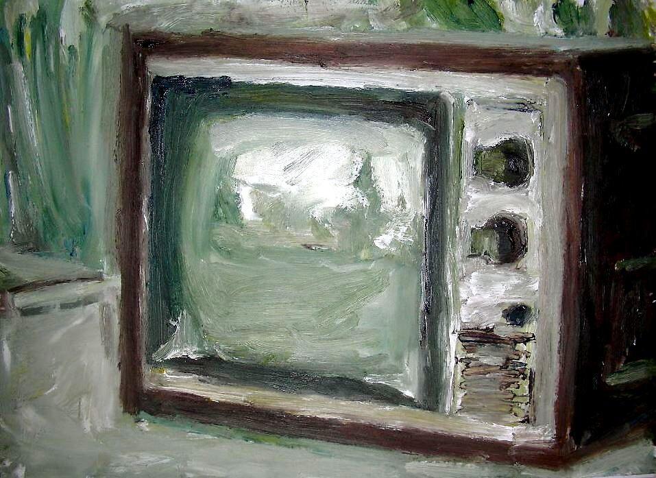 Vintage Television by Rosanna Jeffery