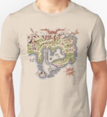 Kanto Map Unisex T-Shirt