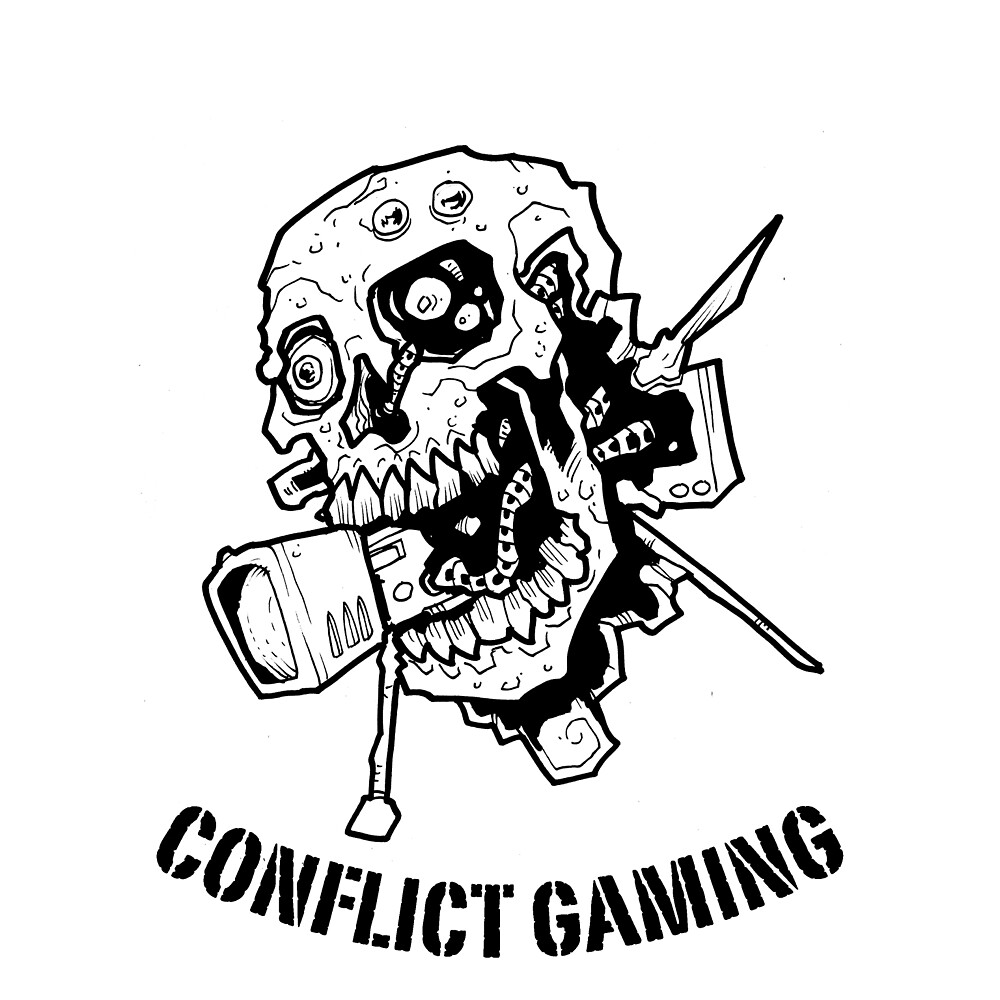 Black logo by conflict-games