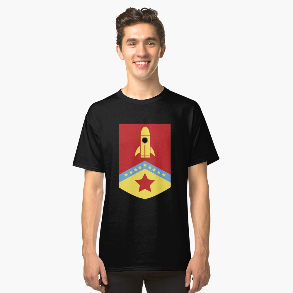 House of space Classic T-Shirt Front