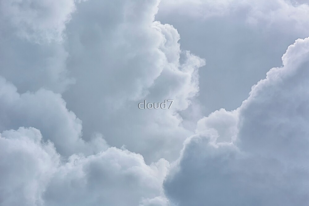 Background of stormy clouds. by cloud7