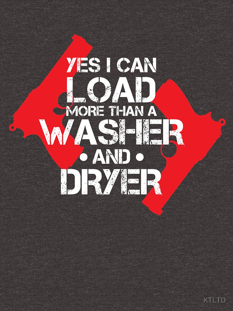 yes i can load more than a washer and driver by KTLTD