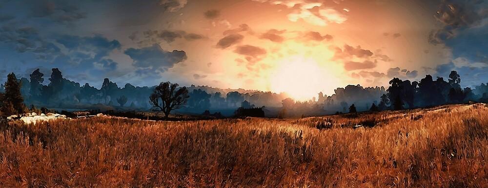 Fields of Heaven by Andrea Mazzocchetti