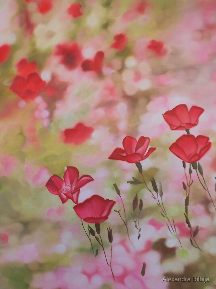 Pink Rhapsody by Alexandra Bilbija
