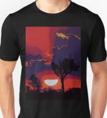 Flaming Skies Unisex T-Shirt