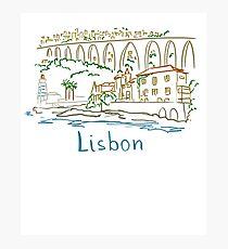 Lisbon Panorama Photographic Print