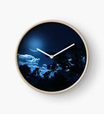 Under a magical Moon Clock