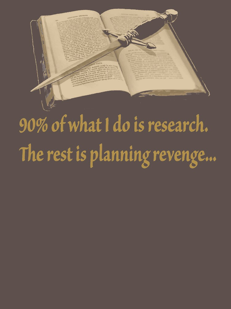 Ninety Percent Research The Rest Is Planing Revenge VA249 New Product by Diniansia