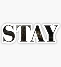 Stay (Interstellar) Sticker