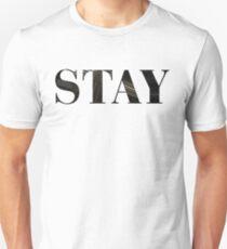 Stay (Interstellar) Slim Fit T-Shirt